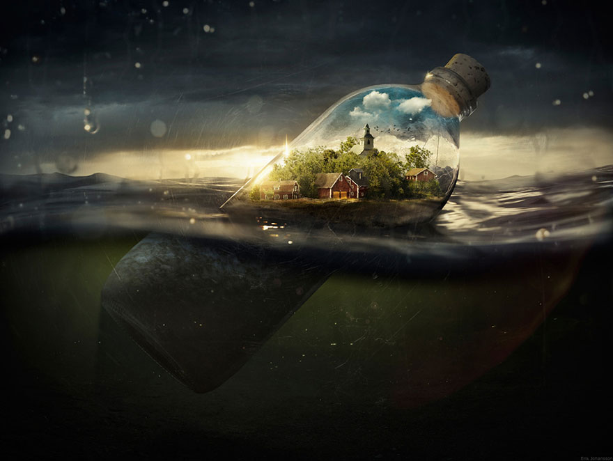 Photoshop Mind-Bending Pics by Erik Johansson