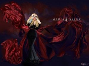 Maria Brink, my inspiration for my art