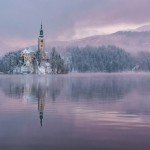 Lake Bled On A Fairytale Winter Morning
