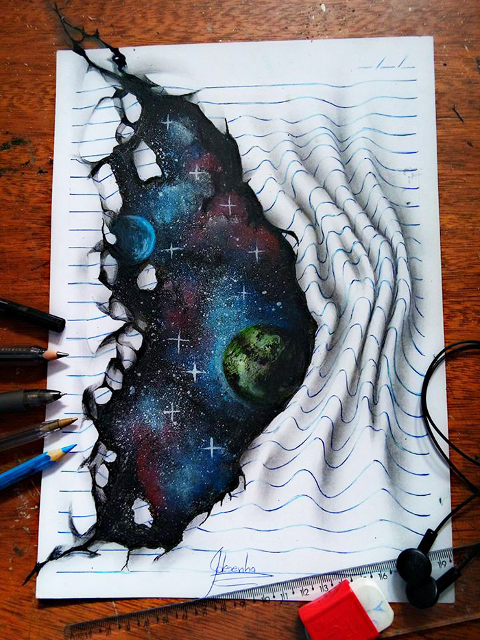 3D Doodles That Leap Off The Page
