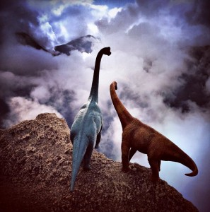 Travel Photos Are Instantly Better With Dinosaur Toys
