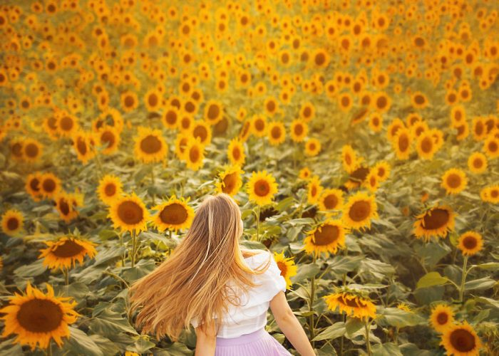 Dreamy Portraits Inspired By Van Gogh's Sunflowers