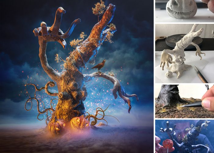 Using Crafts And Photography To Capture Small Worlds