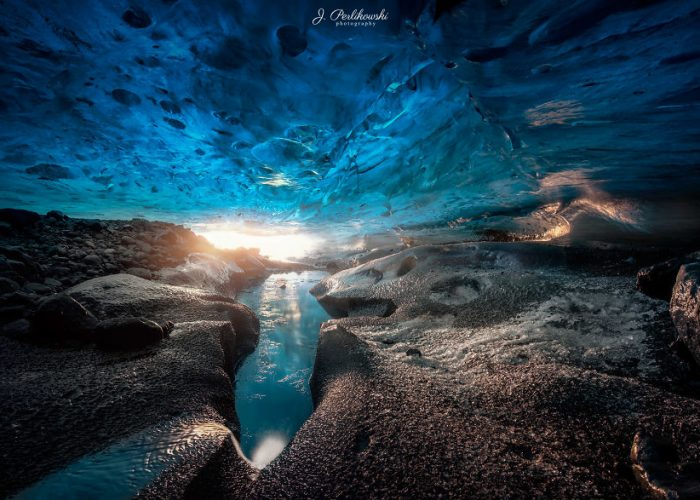 Magical Ice Caves In Iceland