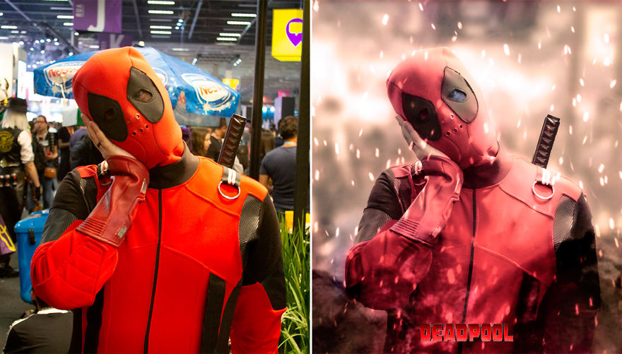 Cosplayers Inserted Into Mockup Posters