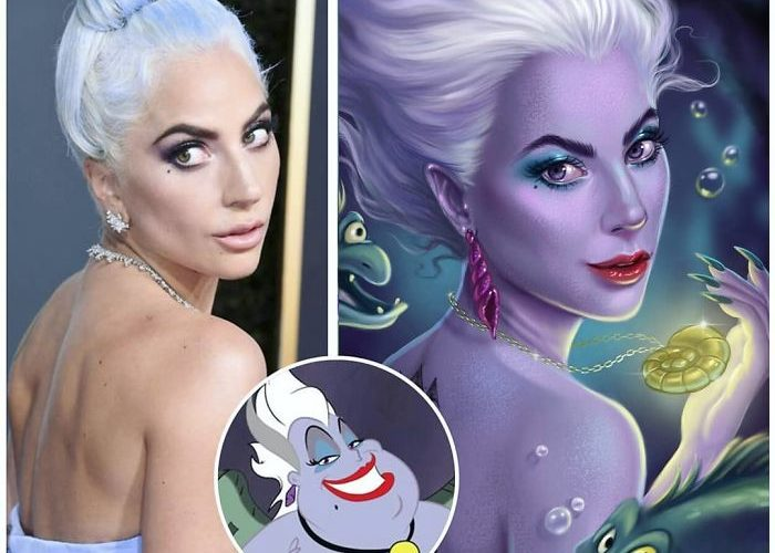 26 Celebrities Reimagined As Disney Characters