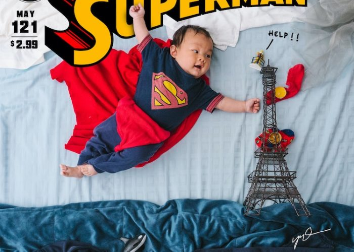 Creative Parents Make 52 Movie Posters Starring Their Son for the First 52 Weeks of His Life