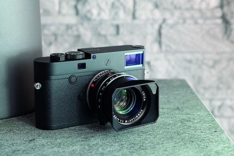 The Leica M10 Monochrom is a full-frame camera exclusively for black and white photography