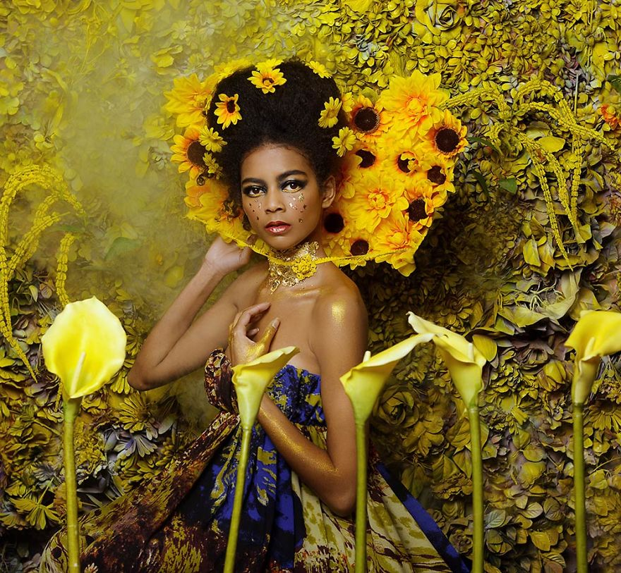Modern Day Images Inspired By Gustav Klimt Paintings